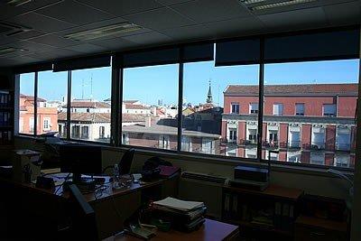 Láminas solares en todas las ventanas